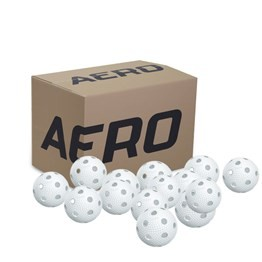 SALMING AERO PLUS FLOORBALL 200 PCS WHITE